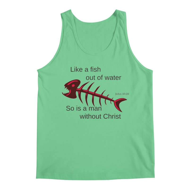 Fish Out of Water Men's Regular Tank by theclearword's Artist Shop