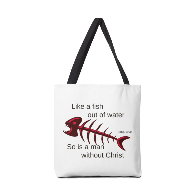 Fish Out of Water Accessories Bag by theclearword's Artist Shop