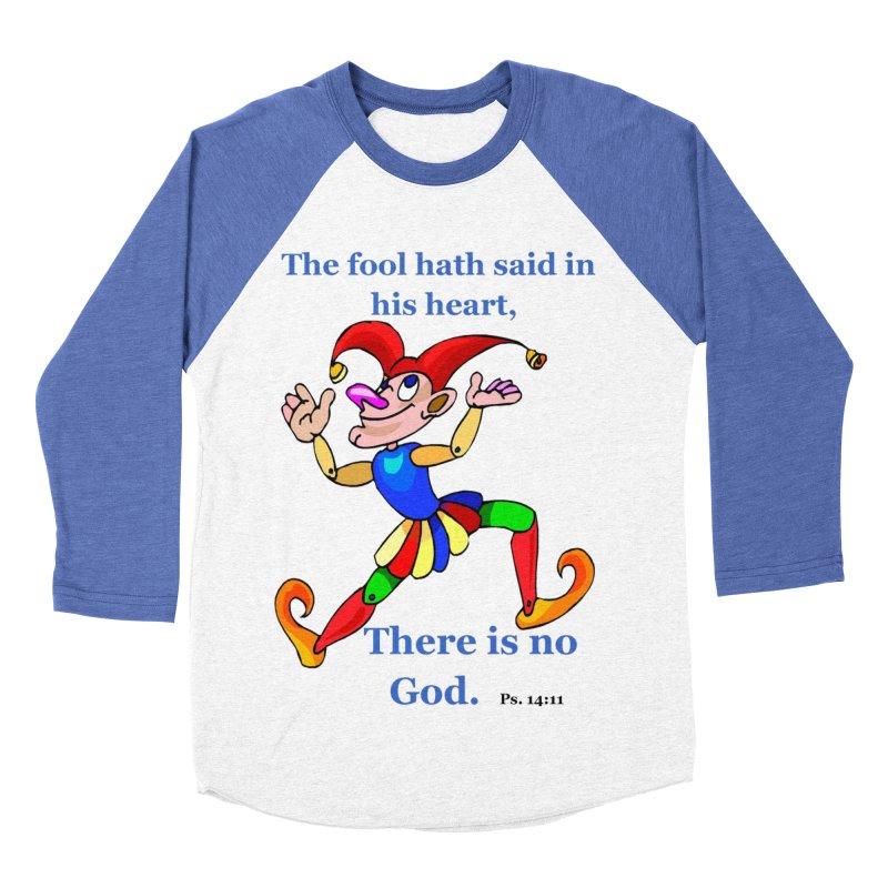 The Fool Men's Baseball Triblend Longsleeve T-Shirt by theclearword's Artist Shop