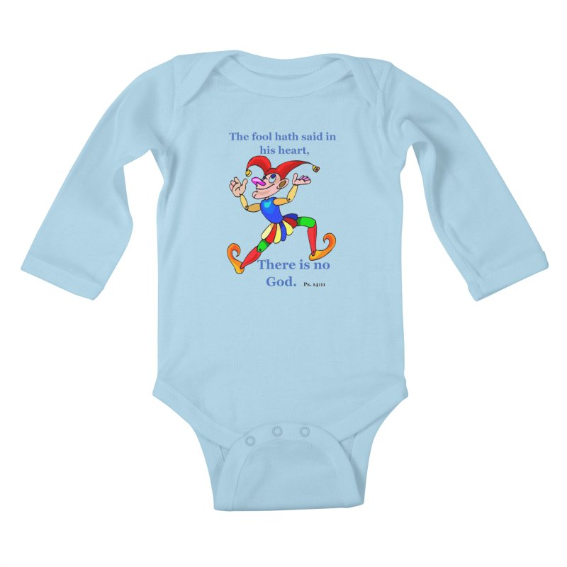 The Fool Kids Baby Longsleeve Bodysuit by theclearword's Artist Shop