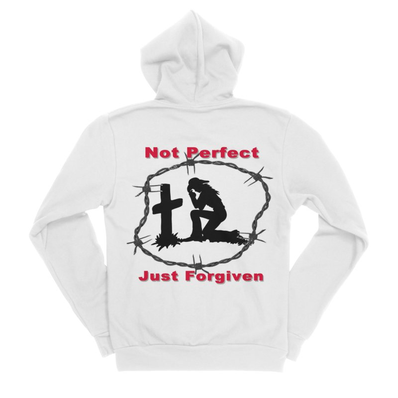Cowgirl not perfect Men's Zip-Up Hoody by theclearword's Artist Shop