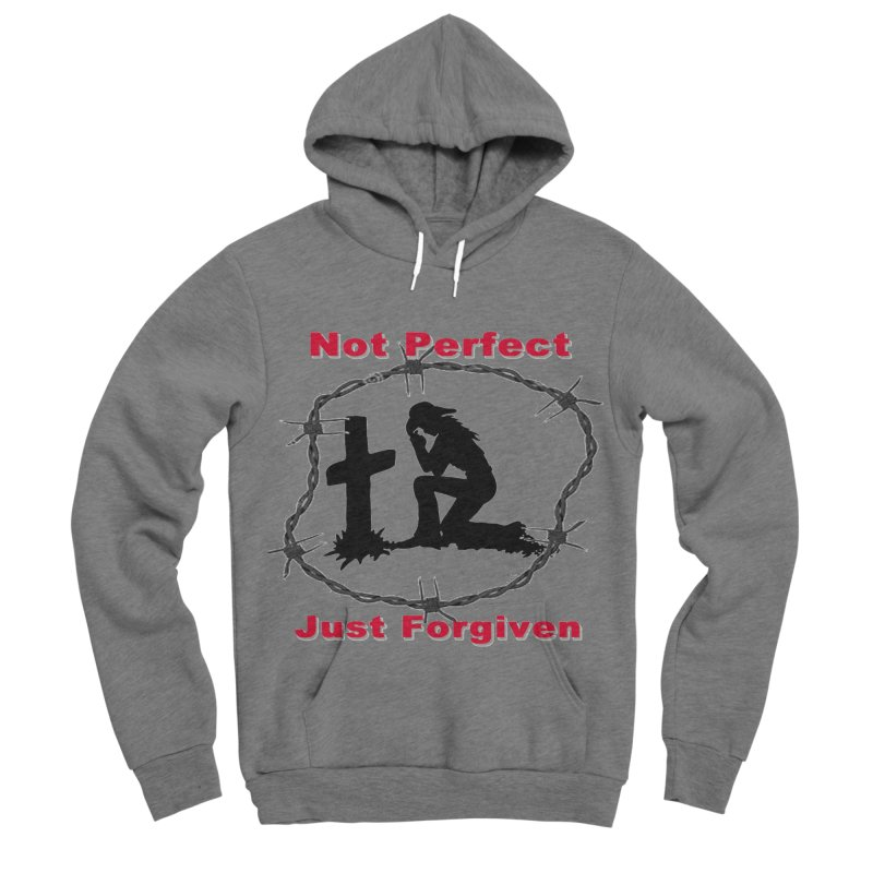 Cowgirl not perfect Men's Sponge Fleece Pullover Hoody by theclearword's Artist Shop