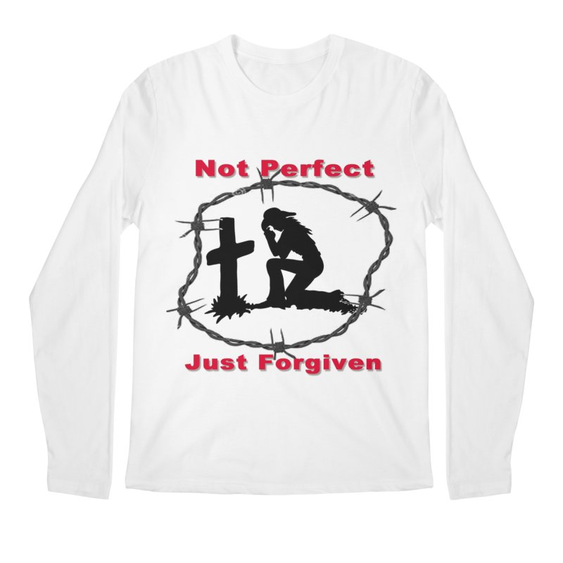 Cowgirl not perfect Men's Regular Longsleeve T-Shirt by theclearword's Artist Shop