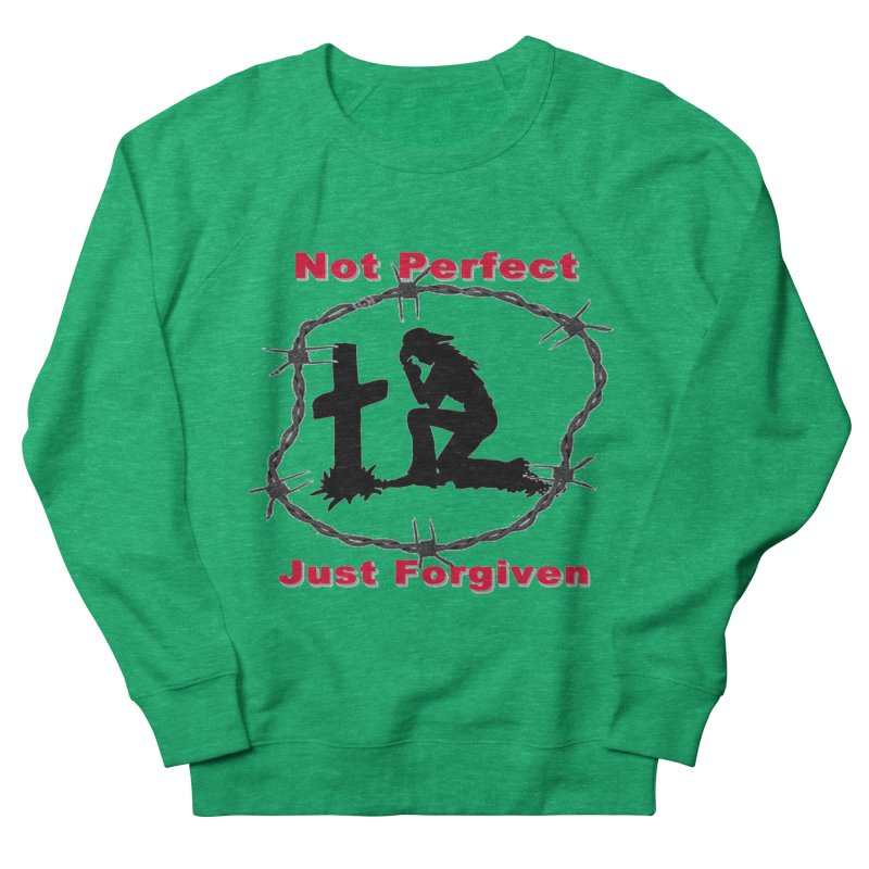 Cowgirl not perfect Women's Sweatshirt by theclearword's Artist Shop