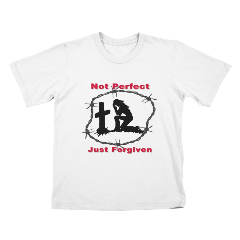 Cowgirl not perfect Kids T-Shirt by theclearword's Artist Shop