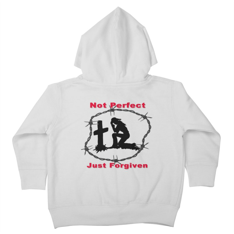 Cowgirl not perfect Kids Toddler Zip-Up Hoody by theclearword's Artist Shop