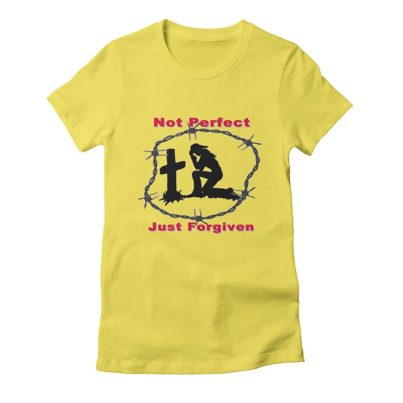 Cowgirl not perfect Women's T-Shirt by theclearword's Artist Shop
