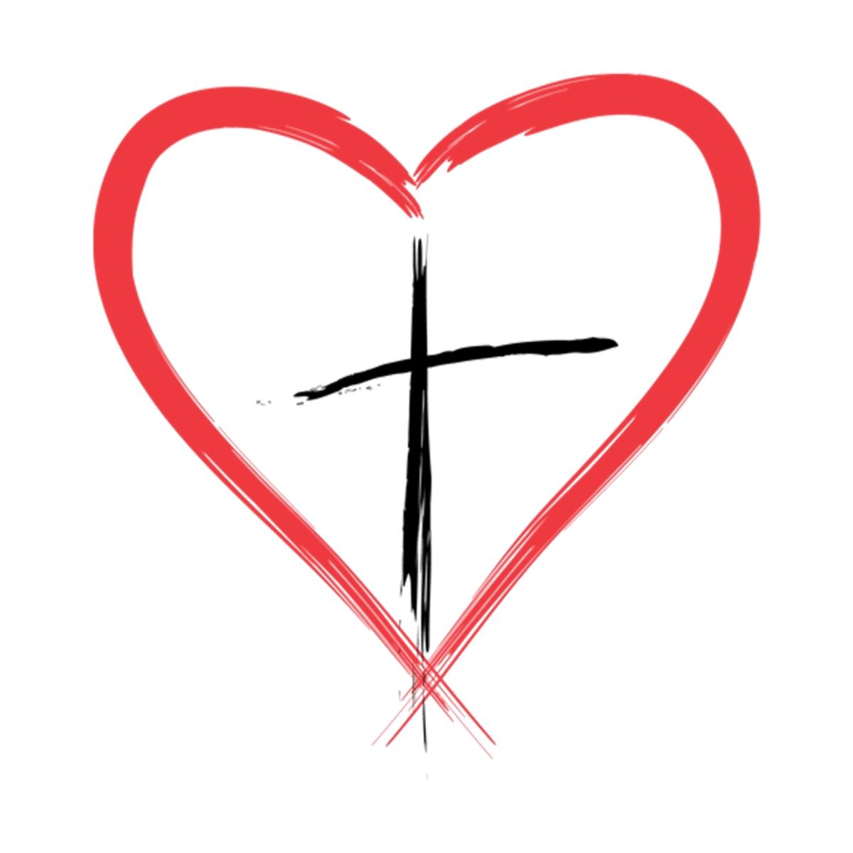сердце перечеркнутое крестом фото одноименном