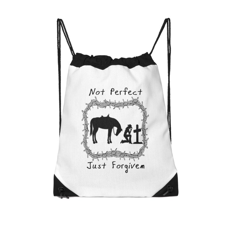 Cowgirl not perfect w/ Horse Accessories Bag by theclearword's Artist Shop