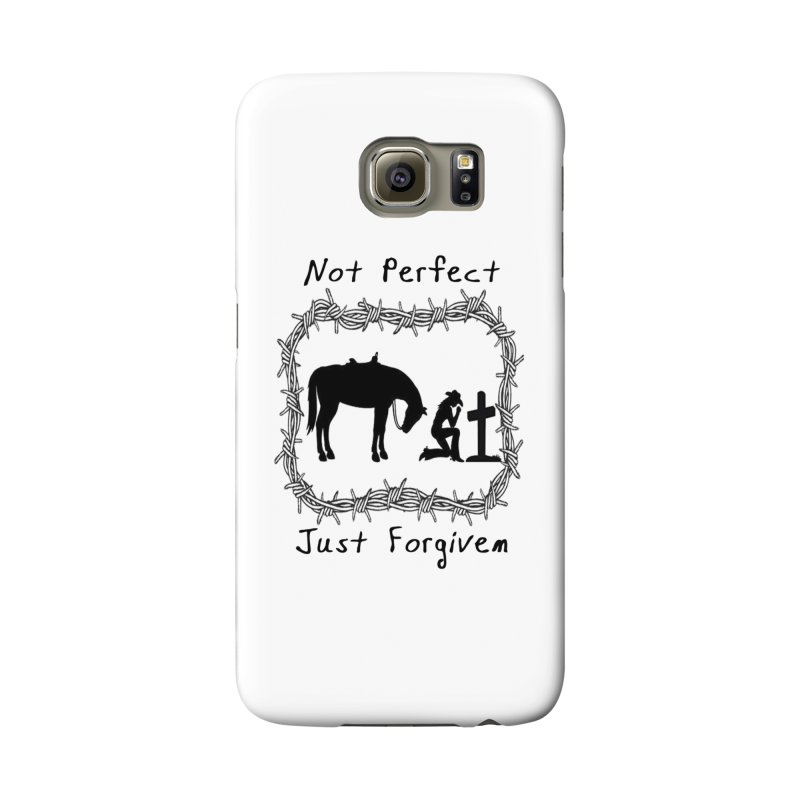 Cowgirl not perfect w/ Horse Accessories Phone Case by theclearword's Artist Shop