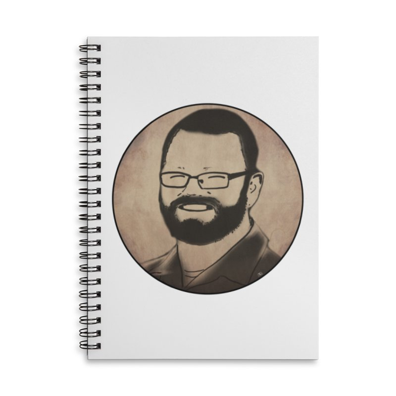 CartoonClif Accessories Notebook by thecliftonworleyshow's Artist Shop