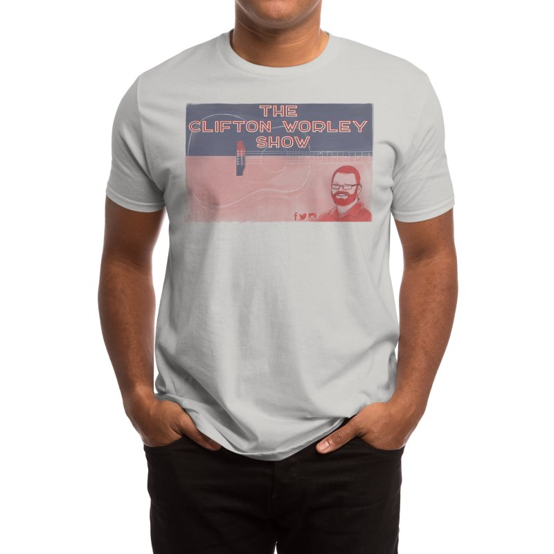 sticker logo Men's T-Shirt by thecliftonworleyshow's Artist Shop