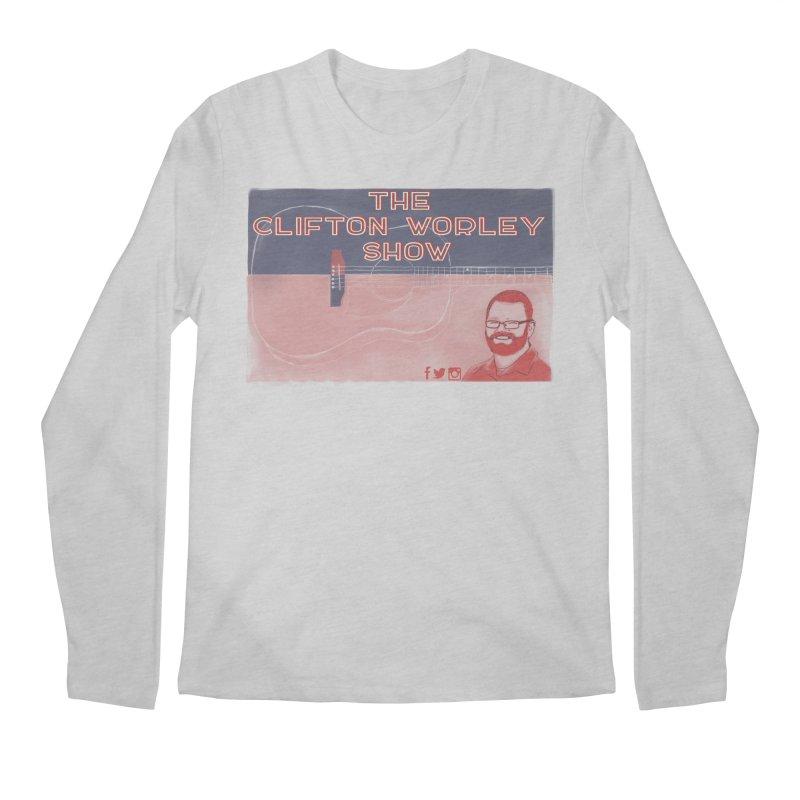 sticker logo Men's Longsleeve T-Shirt by thecliftonworleyshow's Artist Shop