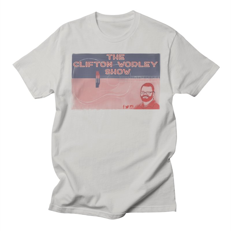 sticker logo Men's T-Shirt by thecliftonworleyshow's Artist Shop