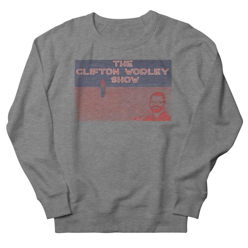 sticker logo Women's Sweatshirt by thecliftonworleyshow's Artist Shop