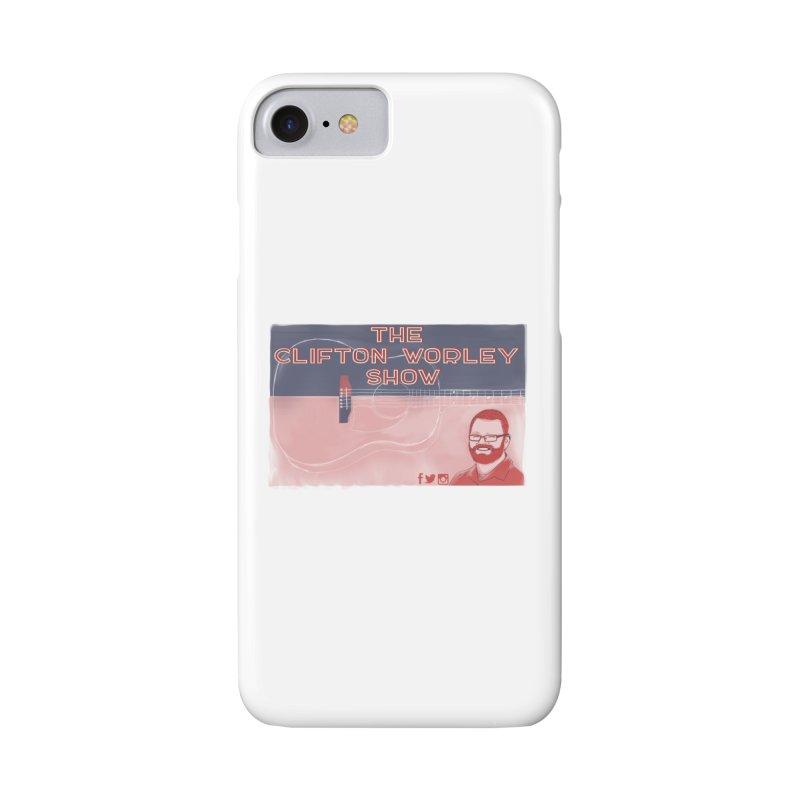 sticker logo Accessories Phone Case by thecliftonworleyshow's Artist Shop