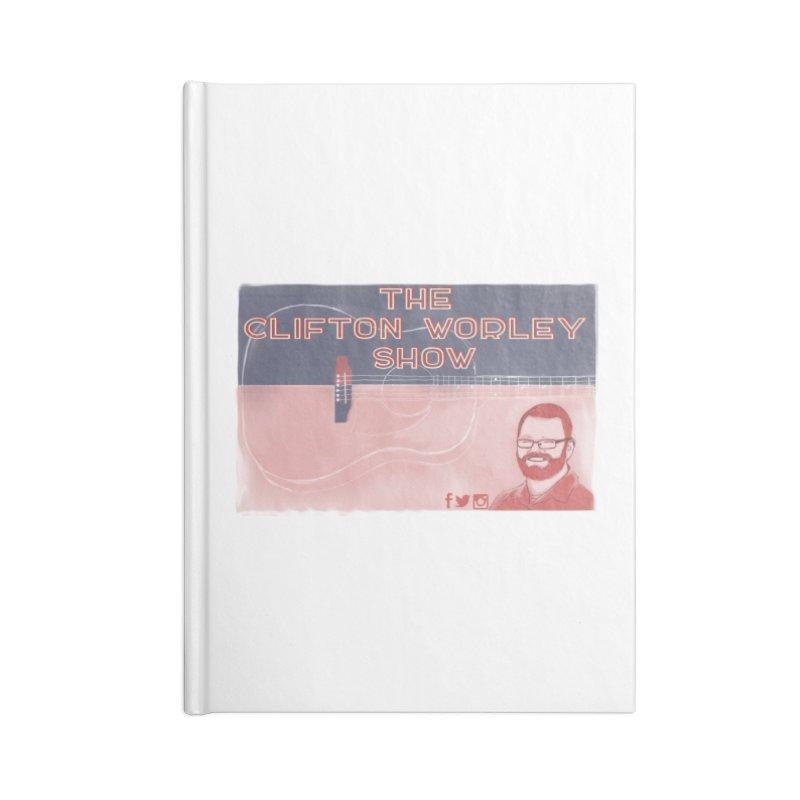 sticker logo Accessories Notebook by thecliftonworleyshow's Artist Shop