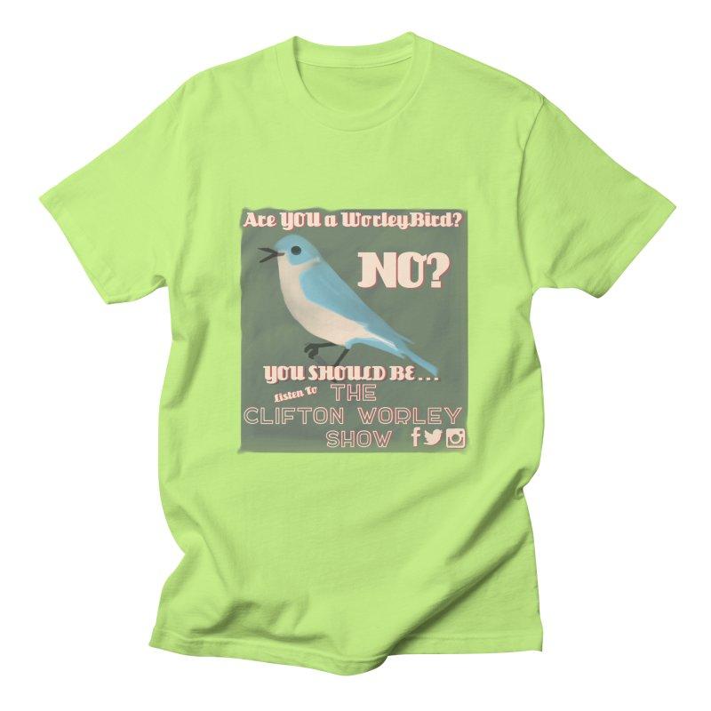 Worley Bird Men's T-Shirt by thecliftonworleyshow's Artist Shop