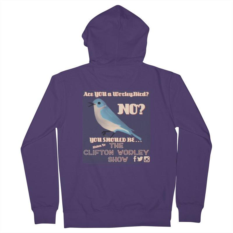 Worley Bird Women's Zip-Up Hoody by thecliftonworleyshow's Artist Shop