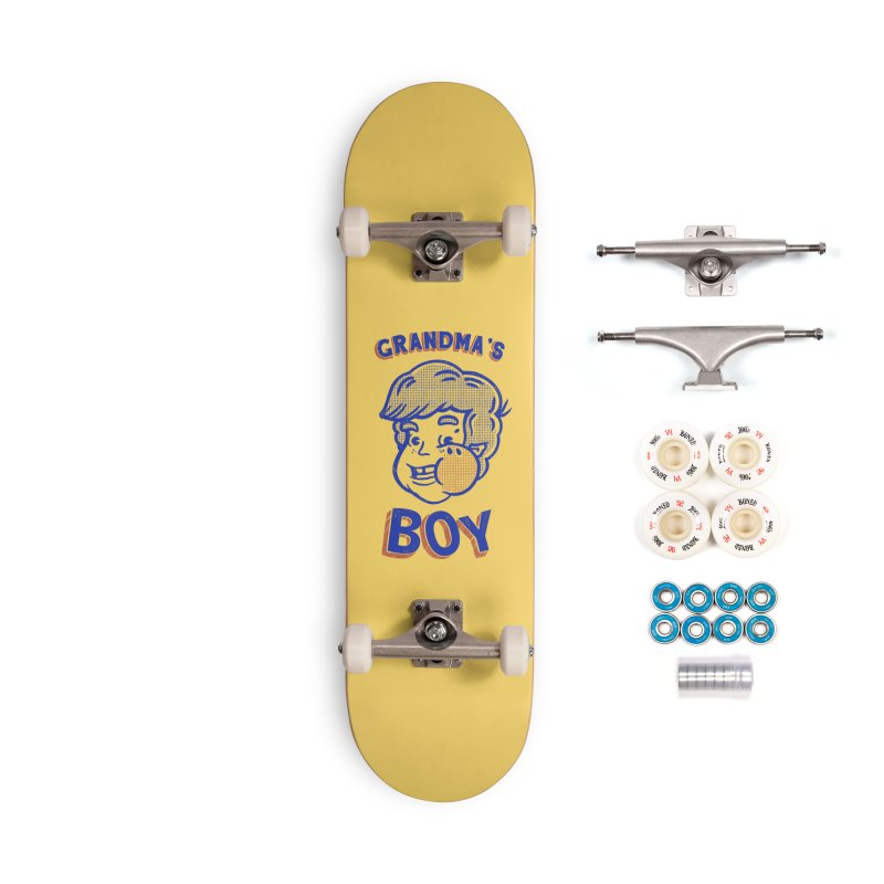 grandma's boy Accessories Complete - Premium Skateboard by The Cool Orange