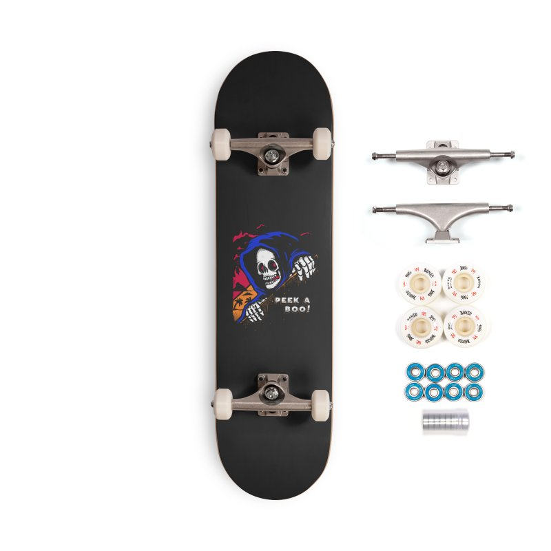 peek a boo! Accessories Complete - Premium Skateboard by The Cool Orange