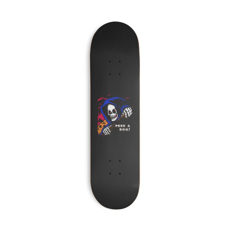 peek a boo! Accessories Deck Only Skateboard by The Cool Orange