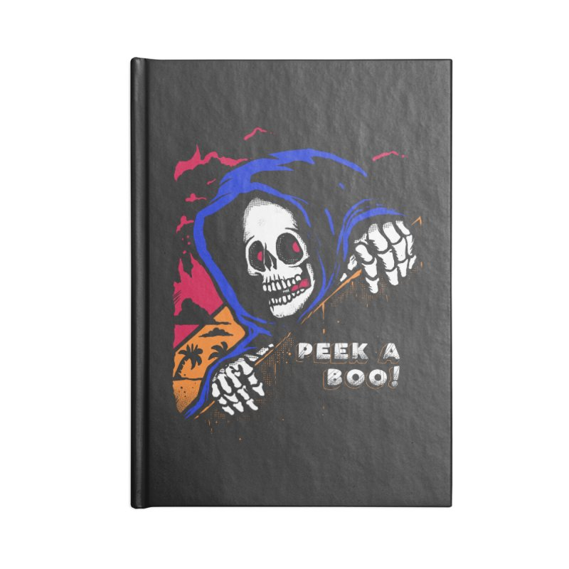 peek a boo! Accessories Lined Journal Notebook by The Cool Orange