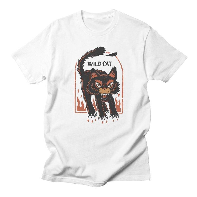 Wild cat Women's Regular Unisex T-Shirt by The Cool Orange