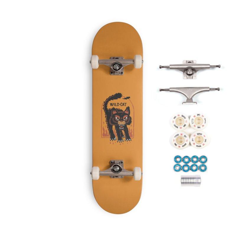 Wild cat Accessories Complete - Premium Skateboard by The Cool Orange