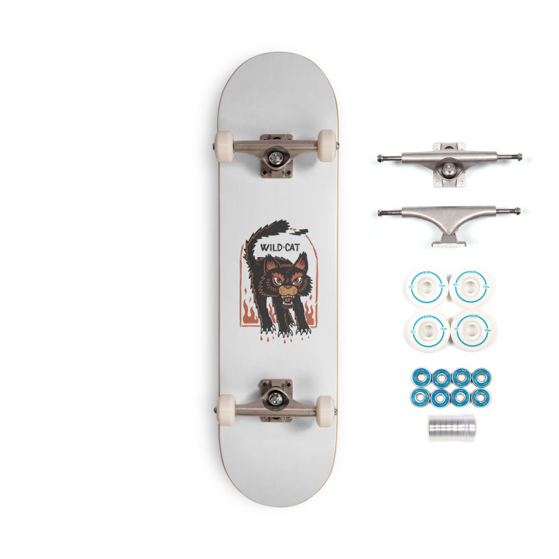 Wild cat Accessories Complete - Basic Skateboard by The Cool Orange