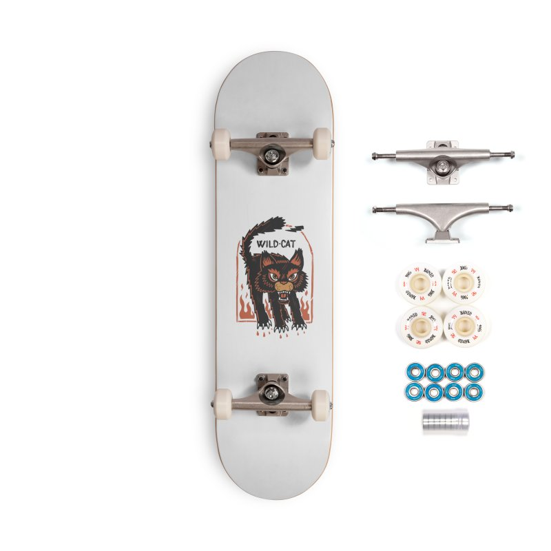 Wild cat Accessories Complete - Premium Skateboard by The Cool Orange