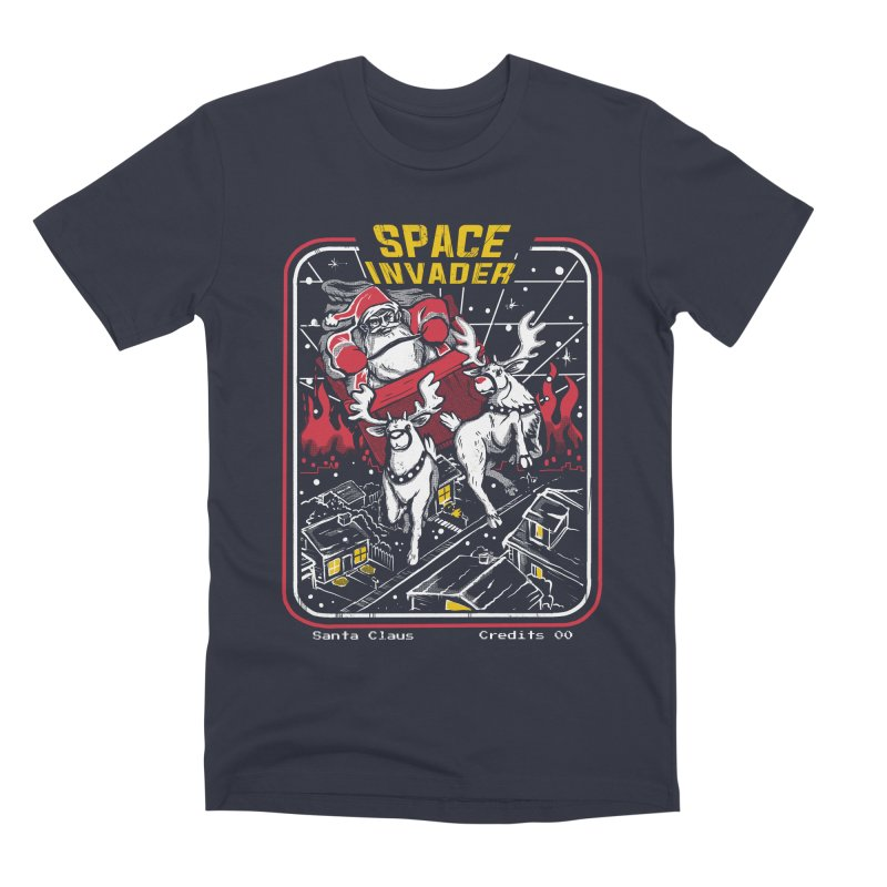Space invader Men's Premium T-Shirt by The Cool Orange