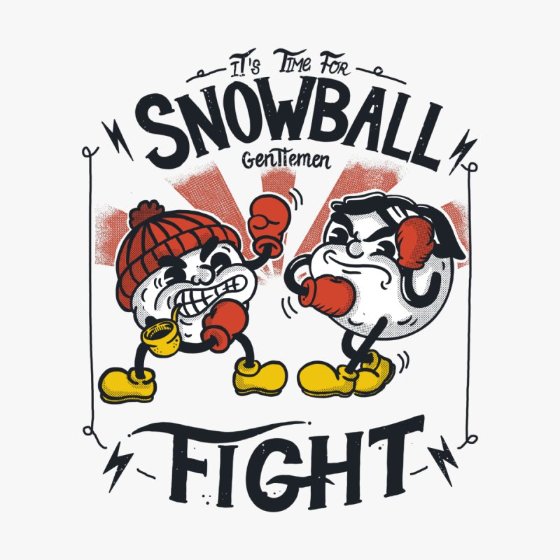 Snowball fight by The Cool Orange