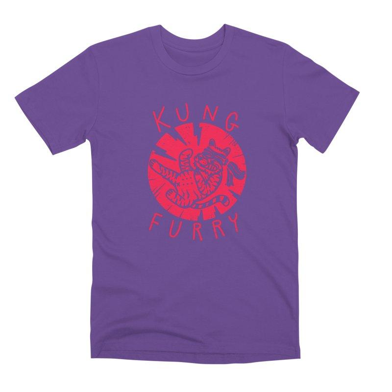 Kung furry Men's Premium T-Shirt by The Cool Orange
