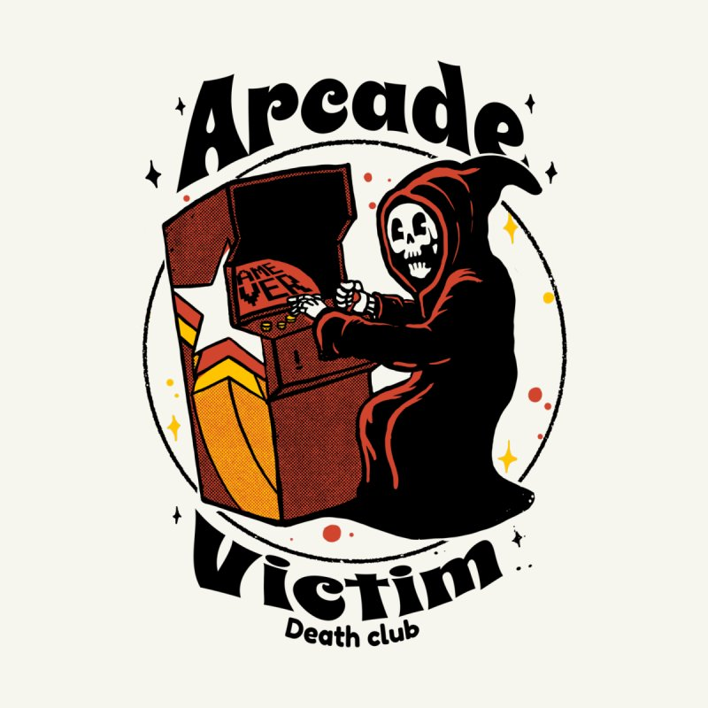 Arcade death club Men's T-Shirt by The Cool Orange