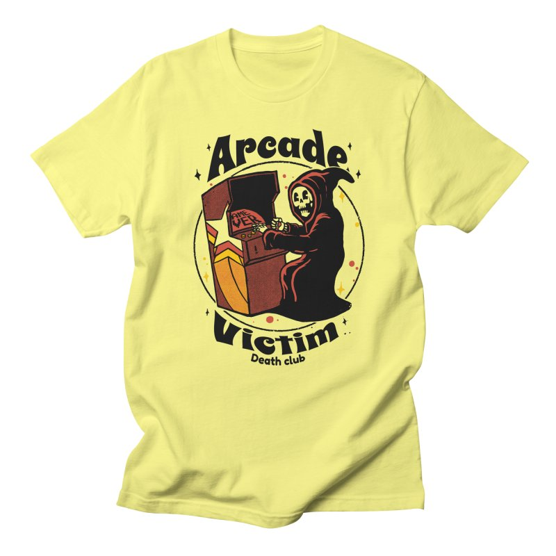 Arcade death club Men's T-Shirt by The Cool Orange