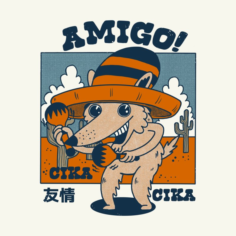 Amigo! Men's T-Shirt by The Cool Orange