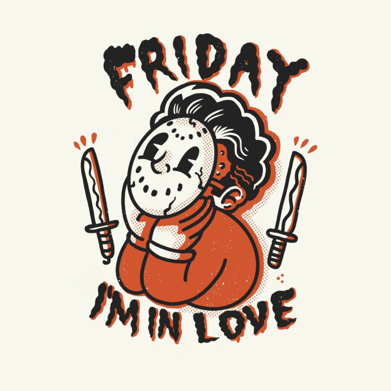 Friday love Men's T-Shirt by The Cool Orange