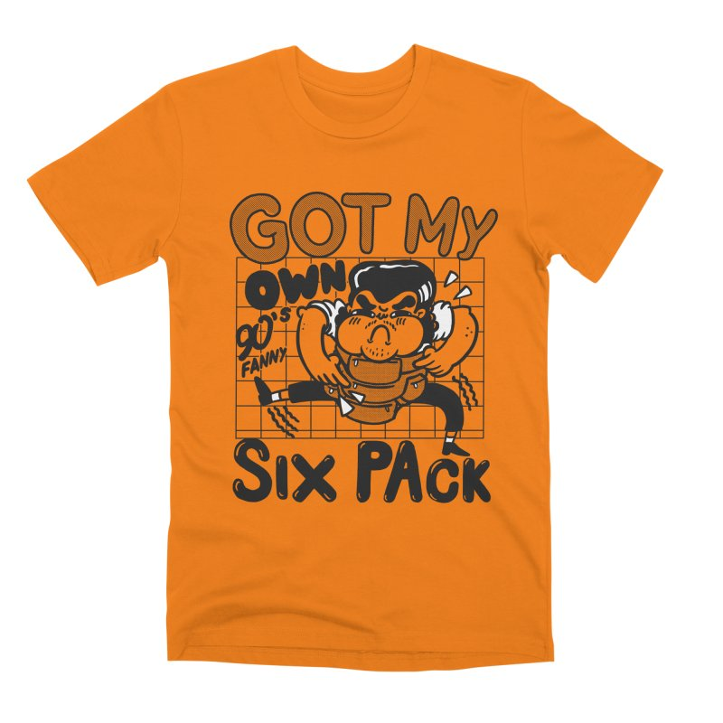 Six pack Men's T-Shirt by The Cool Orange
