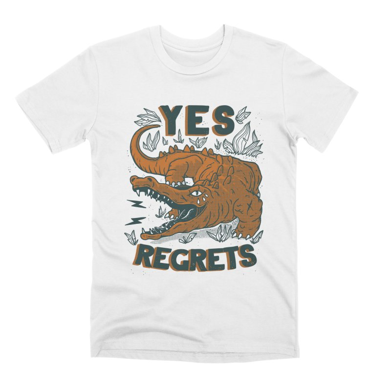 Yes regrets Men's T-Shirt by The Cool Orange