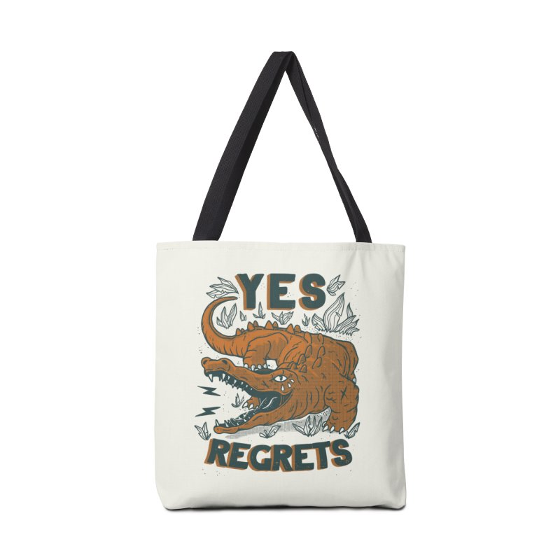 Yes regrets Accessories Bag by The Cool Orange