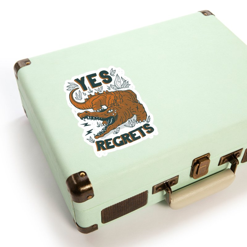 Yes regrets Accessories Sticker by The Cool Orange