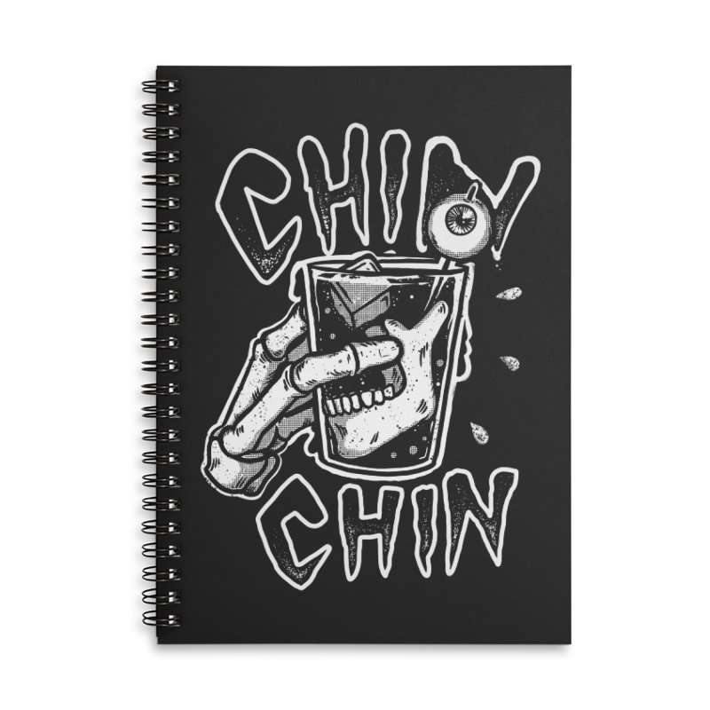 Chin chin Accessories Notebook by The Cool Orange