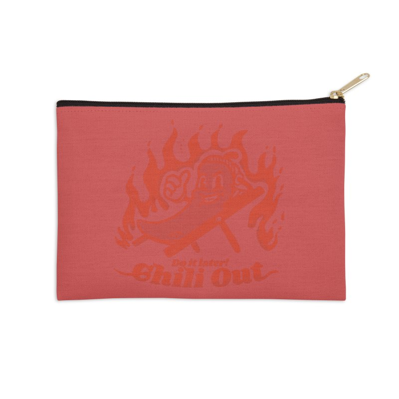 Chili Out, do it later Accessories Zip Pouch by The Cool Orange