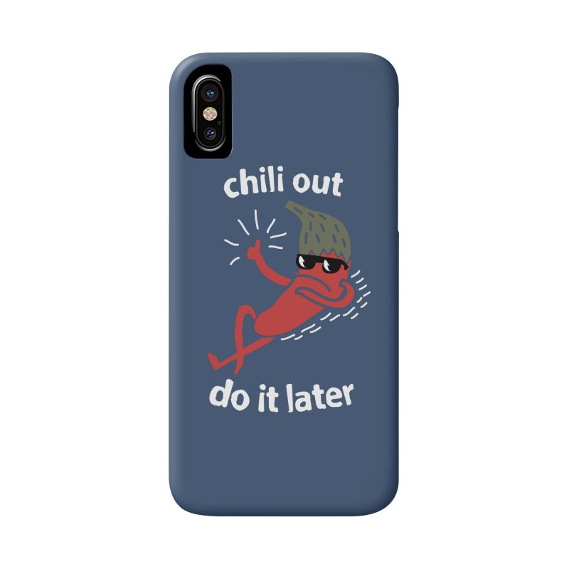 Chili Out, do it later Accessories Phone Case by The Cool Orange