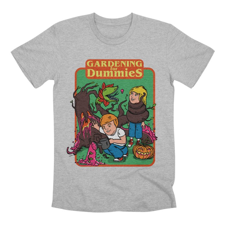 Gardening for dummies Men's Premium T-Shirt by The Cool Orange
