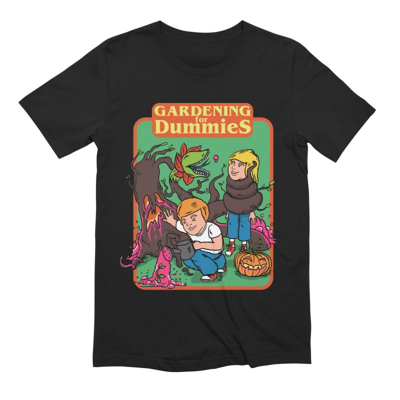 Gardening for dummies Men's Extra Soft T-Shirt by The Cool Orange