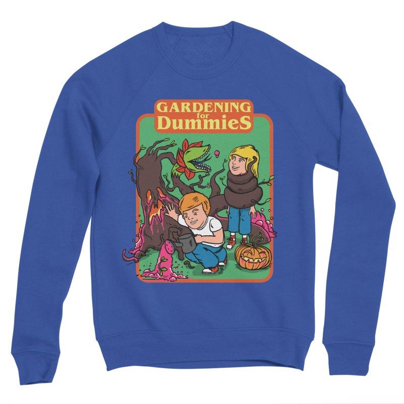 Gardening for dummies Men's Sponge Fleece Sweatshirt by The Cool Orange