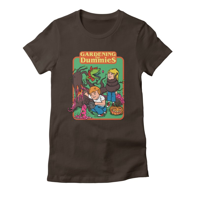 Gardening for dummies Women's Fitted T-Shirt by The Cool Orange