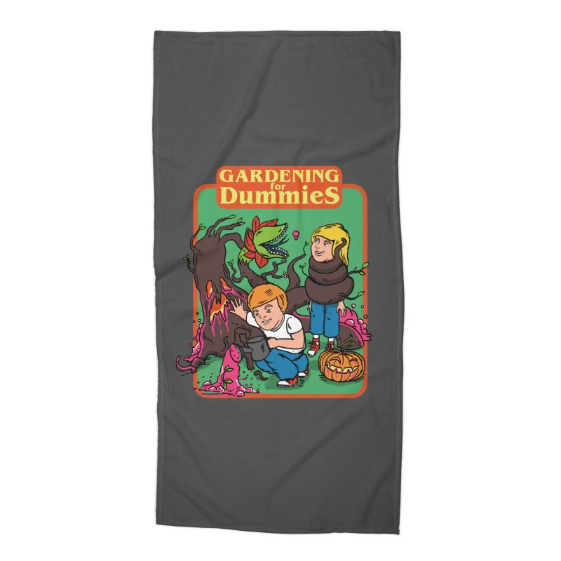 Gardening for dummies Accessories Beach Towel by The Cool Orange